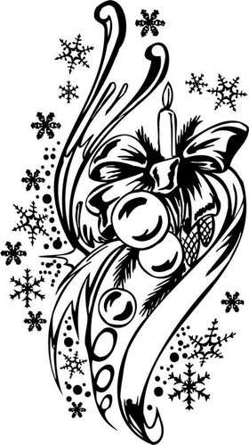 Christmas Sticker 129