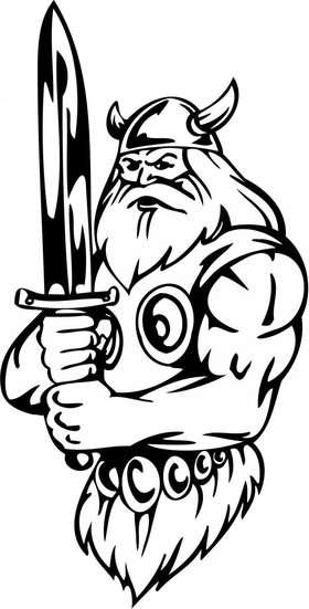 Viking Sticker 70